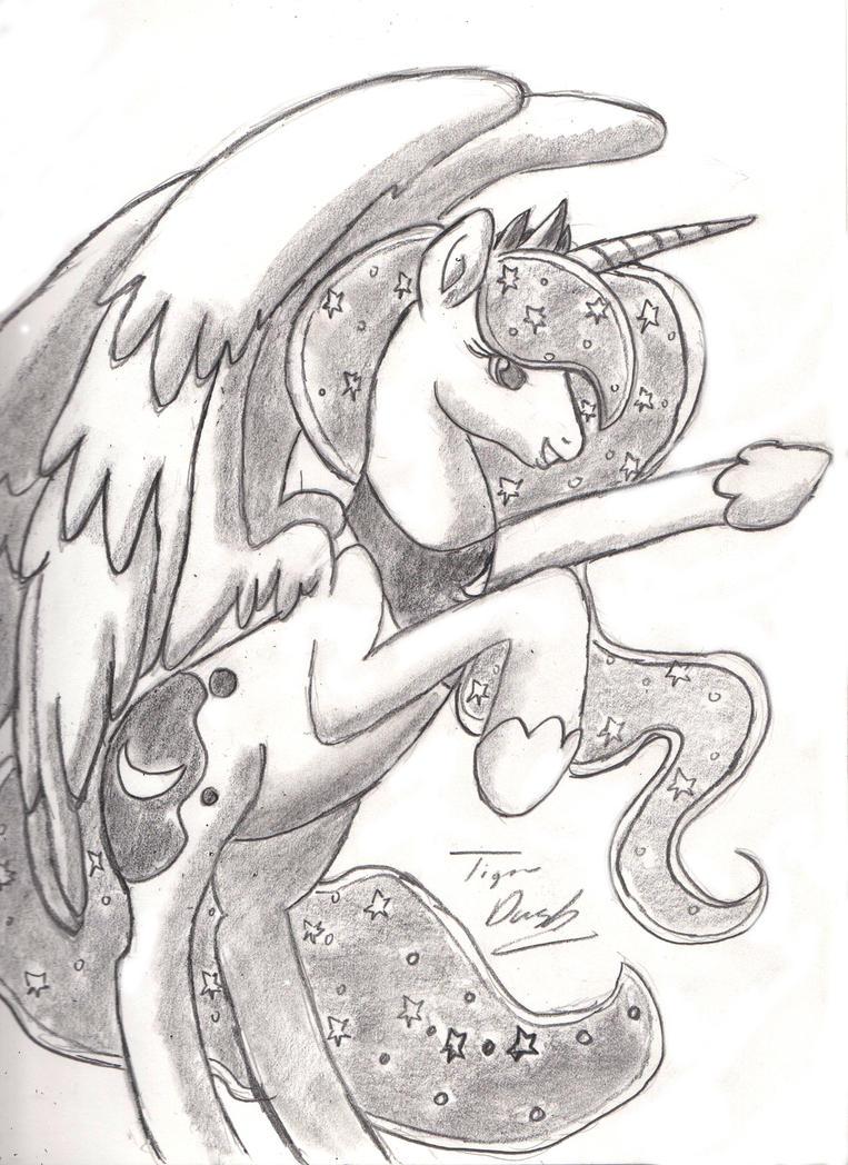 Hooray for Luna! by TigerDusk27