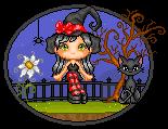 Sweet Witch by malukachan
