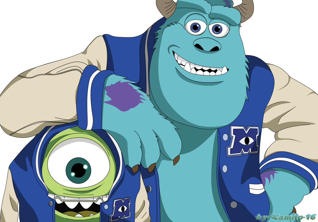 Sullivan y wazowski monsters university by camilo 16 on deviantart sullivan y wazowski monsters university by camilo 16 voltagebd Image collections