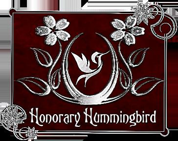 Honorary Hummingbird Award
