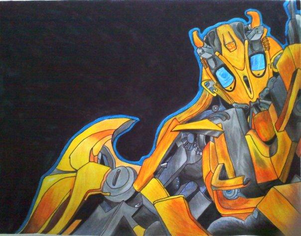 bumble bee by DingMonkey13