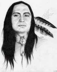 Native American by arthawk87