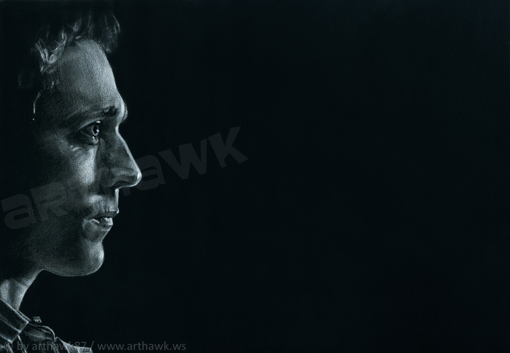 In Darkness I Dwell - Tom Hiddleston by arthawk87