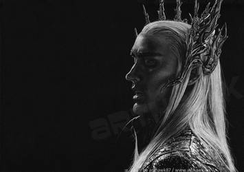 Thranduil - Lee Pace by arthawk87