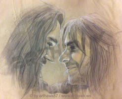 The last goodbye - Thorin and Kili