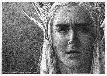 I have patience, I can wait - Thranduil (Lee Pace) by arthawk87