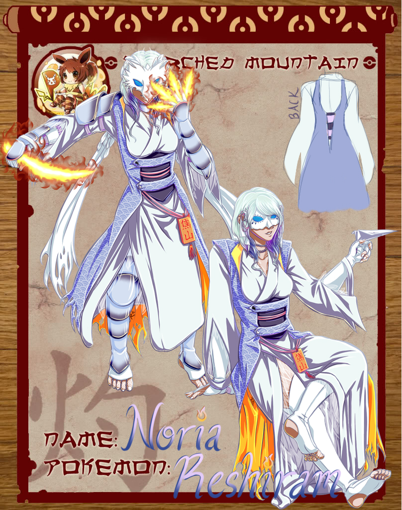 Scorched Mountain Leader Application: Noria by Renu-K