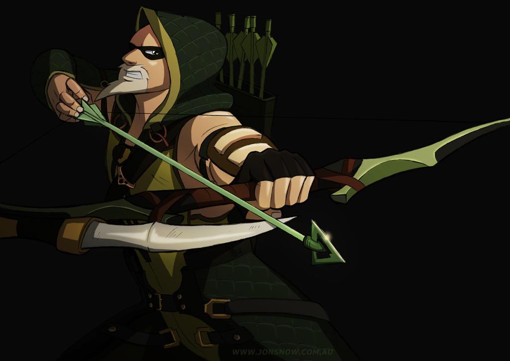 Green Arrow by JonSnow01