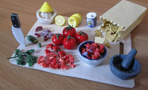 Mexican Salsa Preparation Board by damnheliotrope