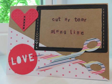 Cut Or Tear Along Line