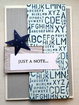 greeting card - letters