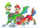 mario bros by Tauregil