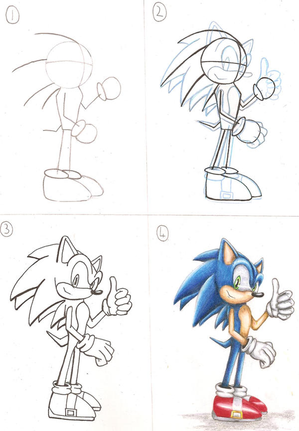 How to draw sonic by tauregil on deviantart