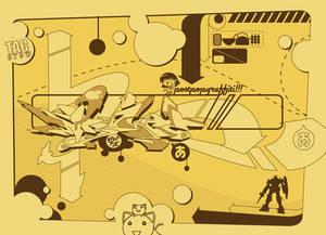 Pop-Japanese-Digital-2D-Graff
