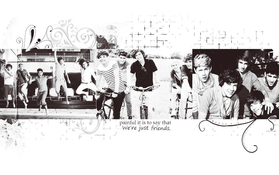 One Direction ''We're Just Friends'' By KarlaDeHendeson On