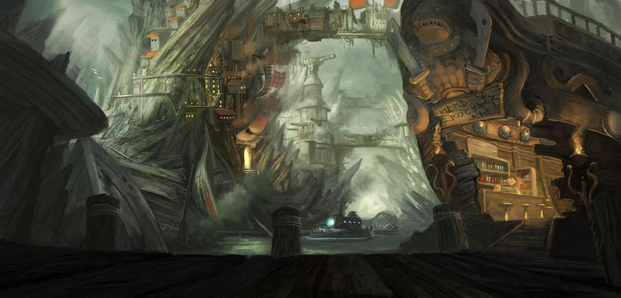 Game Environment Pirate by Kronicpain