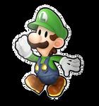Paper Luigi Joins the Battle