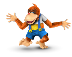 Lanky Kong Joins the Battle