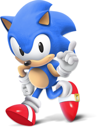 Classic Sonic Joins the New Battle