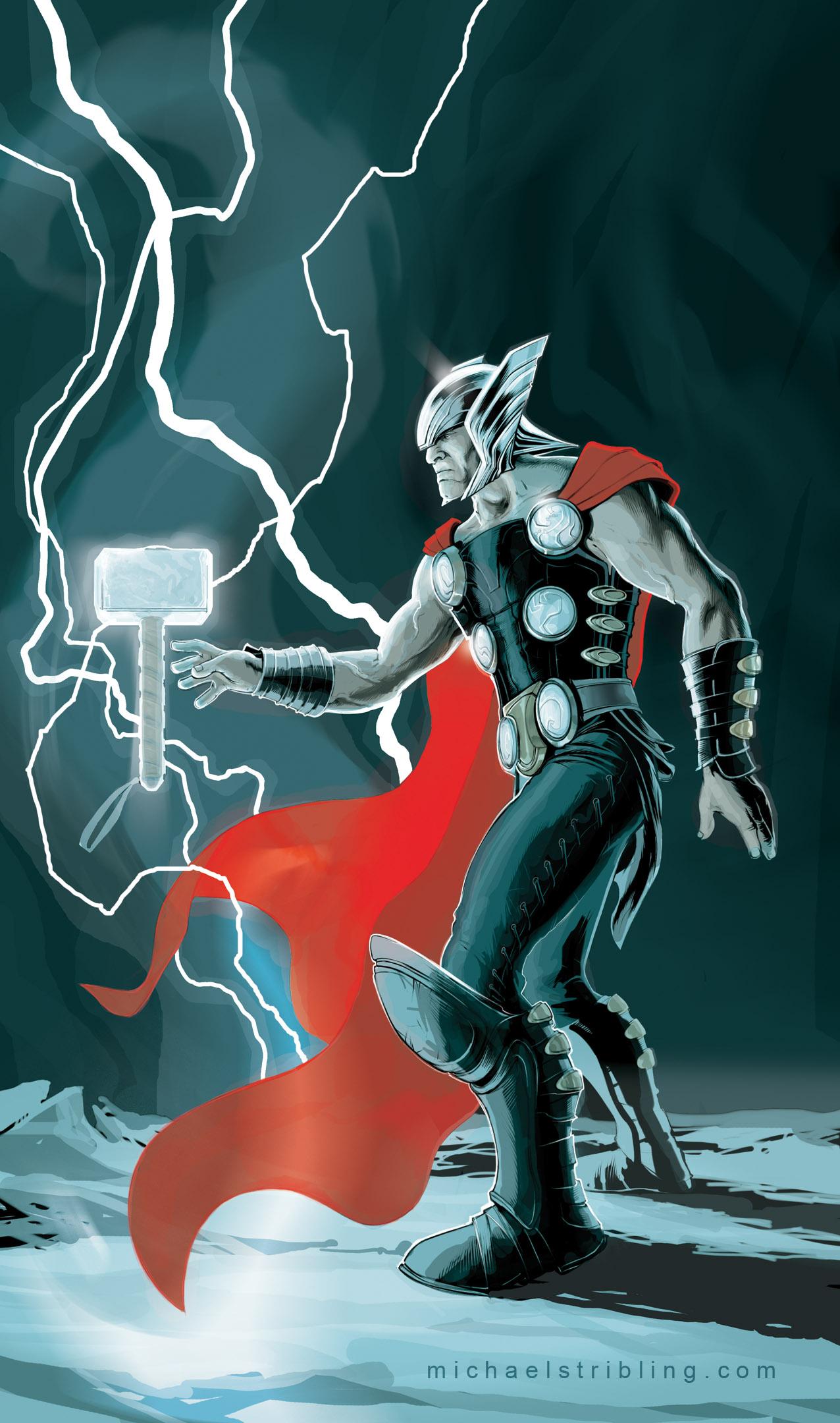 color Thor by strib on DeviantArt