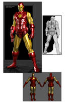 Iron Man -classic by strib