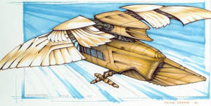 ornithopter sketch