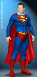 superman 2011 Cavill by strib