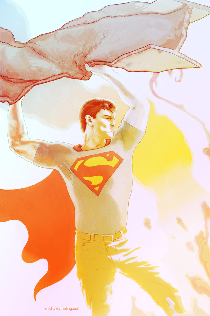 casual superman by strib