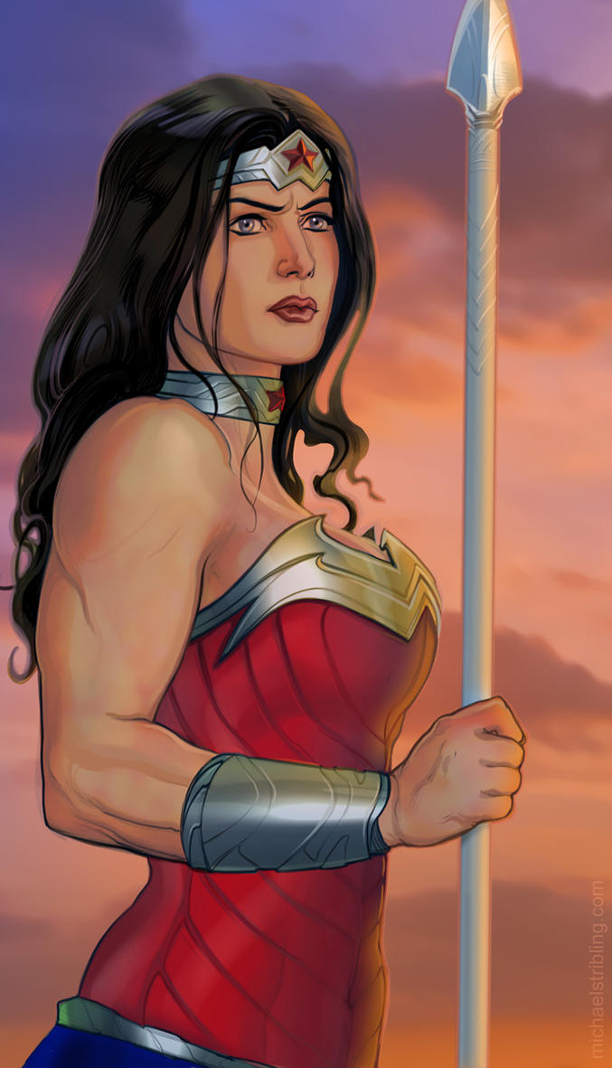 New Wonder Woman by strib
