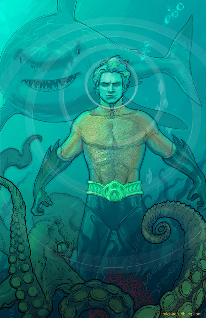 Aquaman by strib