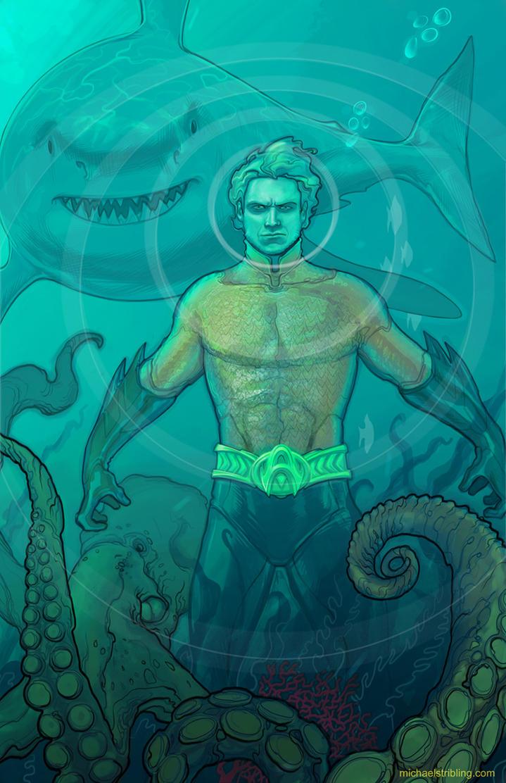 Aquaman by strib