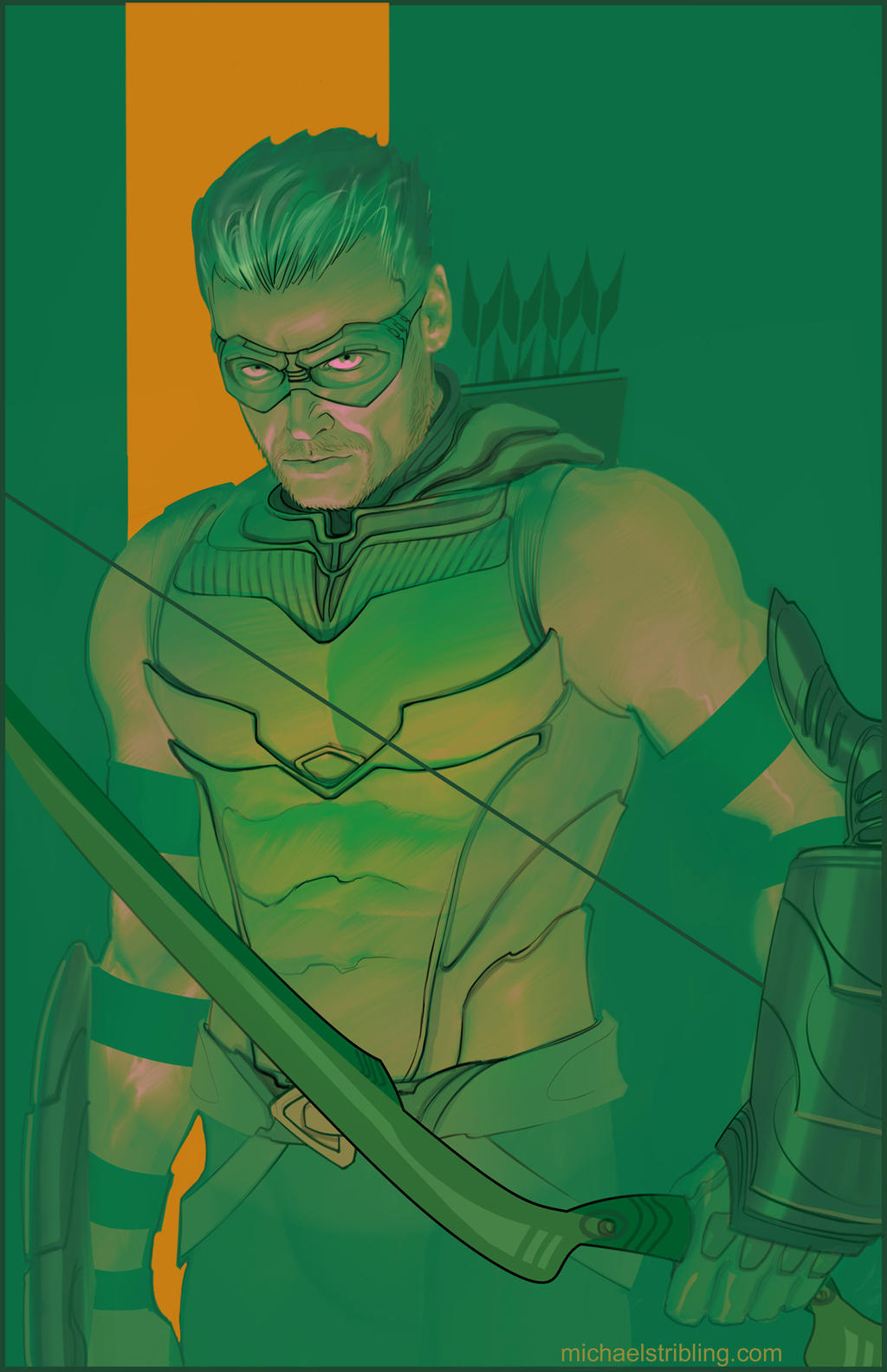 green arrow by strib