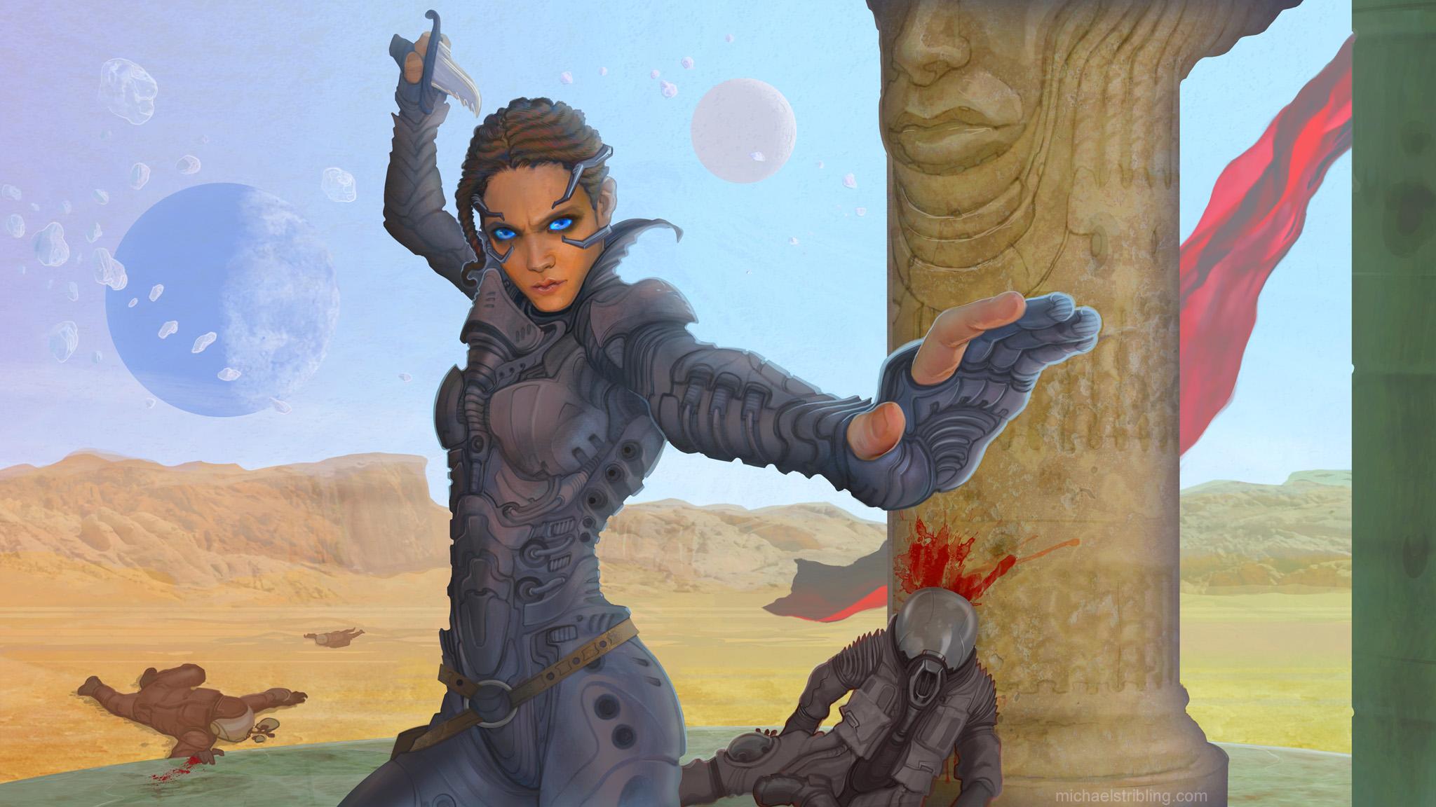 Chani, Daughter of Arrakis by strib