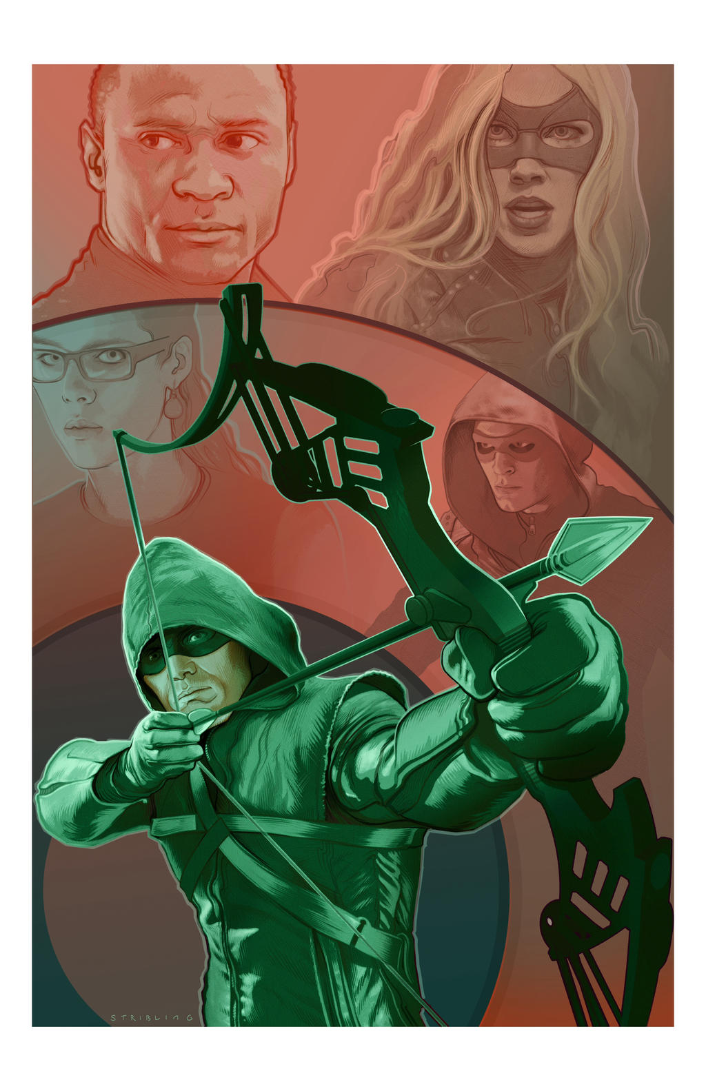 Arrow redux by strib