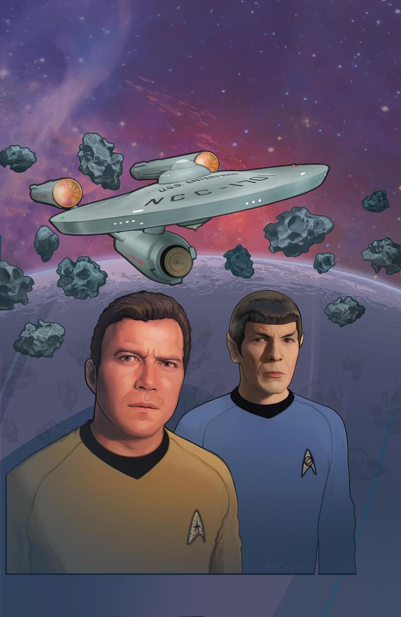 Star Trek:  Gold Key Archives Vol. 5 by strib