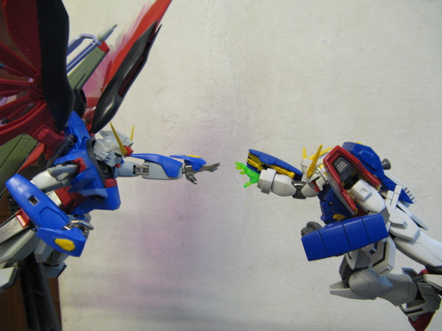 Shining vs destiny -1 by Gundam-MK2