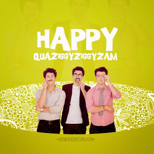 Happy Quaziggyziggyzam by micamoneo
