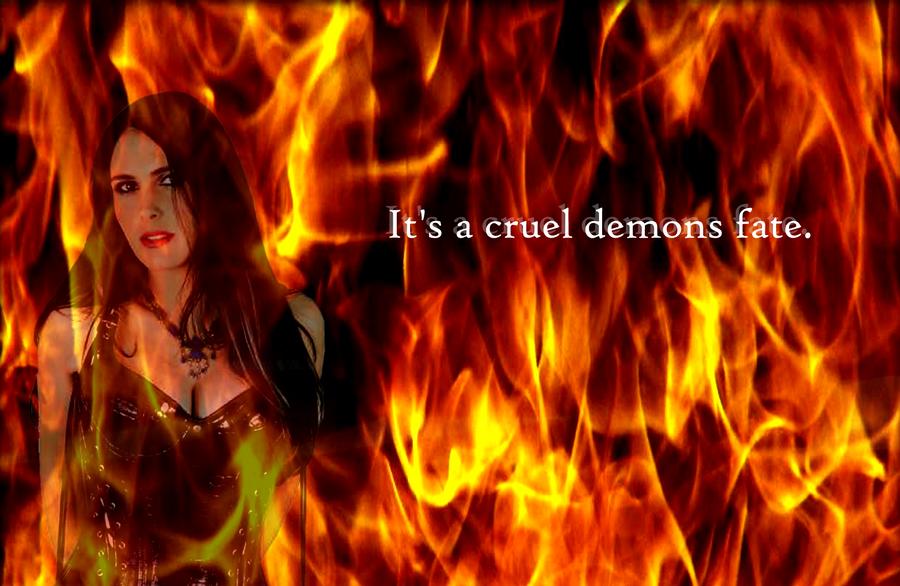 Songtext von Within Temptation - A Demon's Fate Lyrics