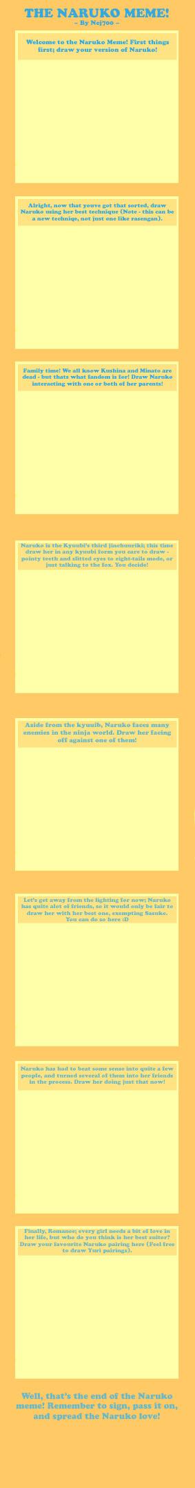 The Naruko Meme by Ncj700