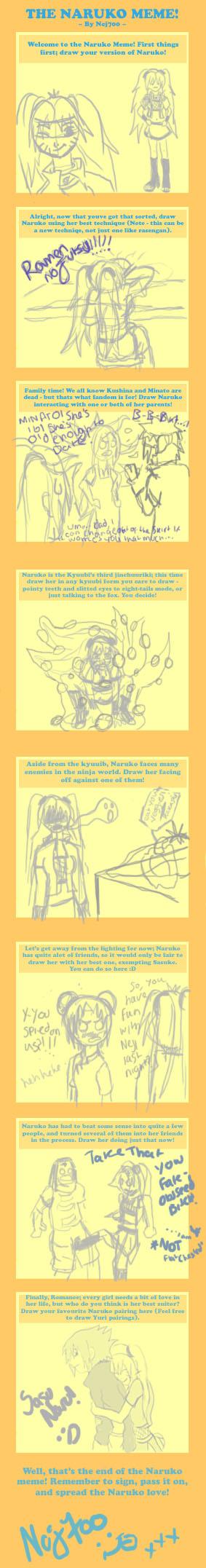 The Naruko Meme - V1.2 by Ncj700