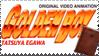 Golden Boy Stamp by InuyashaServant