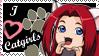 Catgirls Stamp by InuyashaServant
