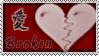 Broken Heart Stamp