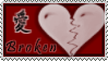 Broken Heart Stamp by InuyashaServant
