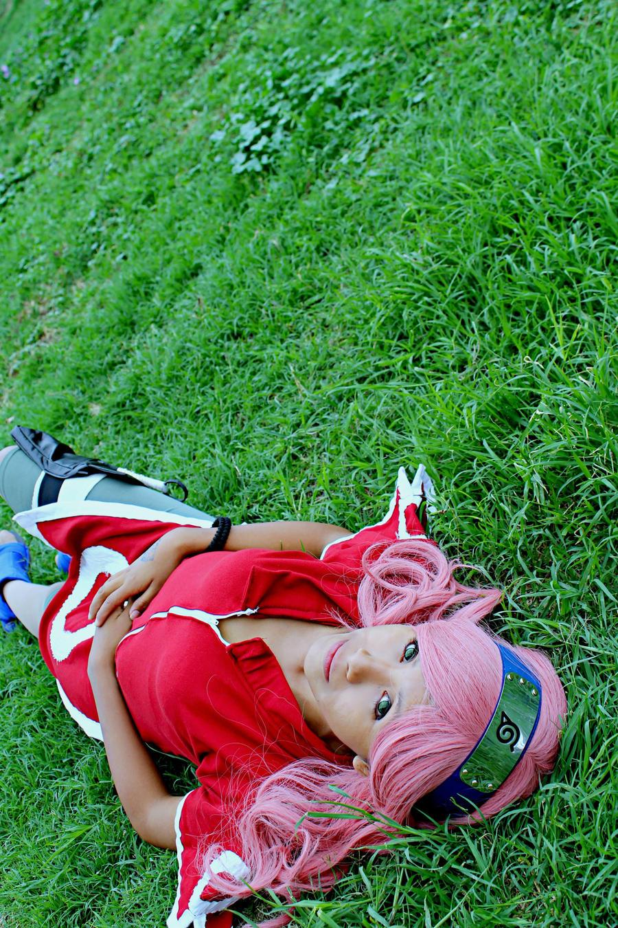 Sakura Haruno cosplay by Deadelmale