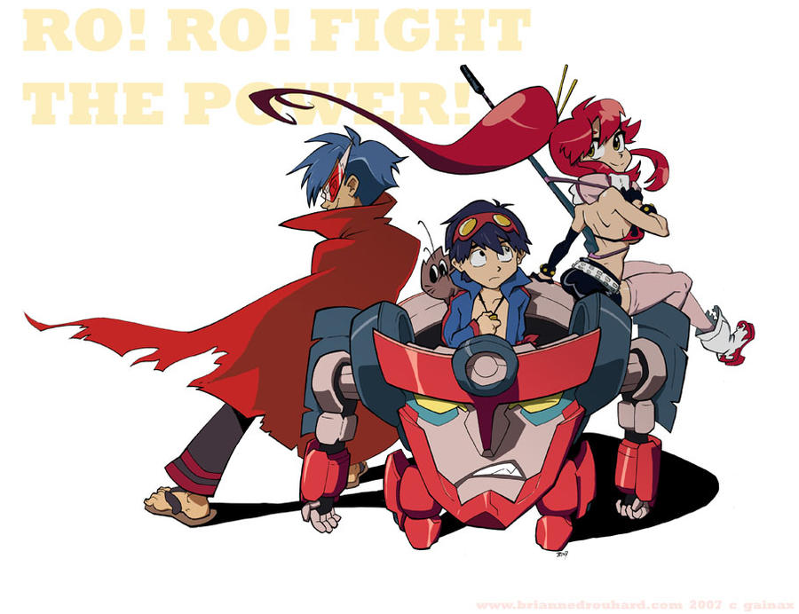 gurren lagann the movie childhoods end watch online