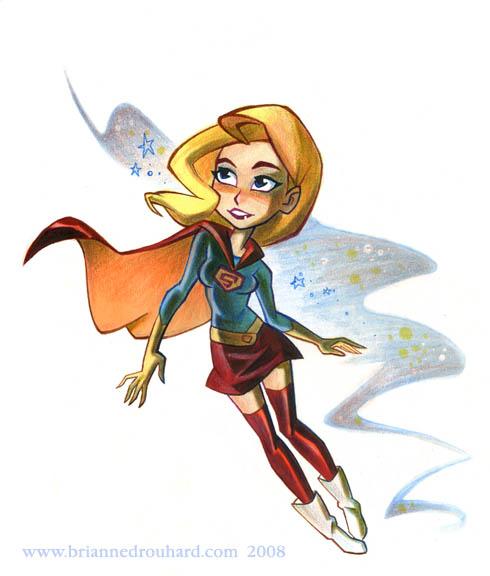 Supergirl by potatofarmgirl