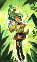 Harpy Naptime by potatofarmgirl