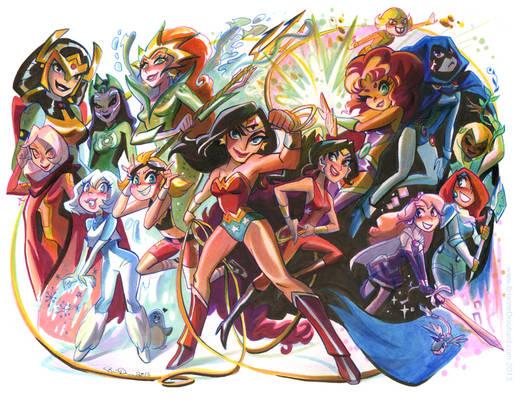 DC Princess Bash