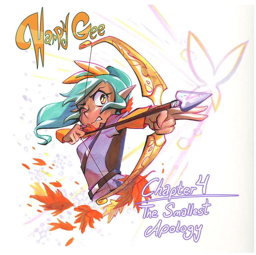 Harpy Gee, chapter four by potatofarmgirl